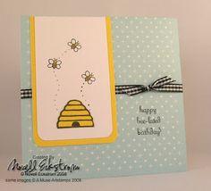 Happy Bee-Lated Birthday!