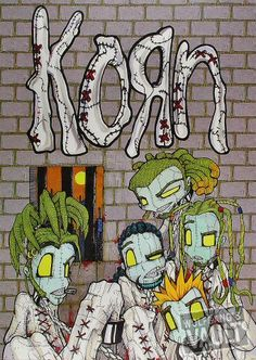 Korn- issues, this is probably my favorite album cover other than Follow the Leader's album cover