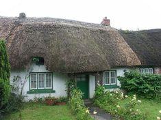 COTTAGE IN ADARE VILLAGE, IRELAND, BY BOZIDARD