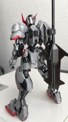 HGIBO 1/144 Gundam Barbatos 4th Form Custom: Big Size Images, Info