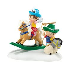 """Department 56: COLLECTING - """"Cowboy Kids"""" - New Introductions"""
