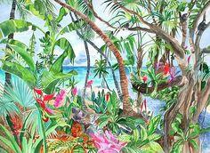 Jungle Life watercolor
