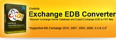 "Superb software Exchange EDB to PST Converter provides you best facility to recover corrupt Exchange EDB file and convert EDB file into PST format. Exchange EDB to PST Freeware tool supports all Exchange EDB versions 5.0, 5.5, 2000, 2003, 2007, 2010 and 2013. Taking help of Exchange EDB Recovery Tool you can recovers Exchange EDB emails between two dates ""To Date"" to ""From Date""."