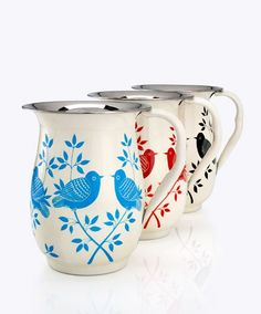 Handpainted pitchers