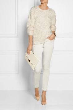 By Malene Birger | Blondy textured knitted sweater | NET-A-PORTER.COM