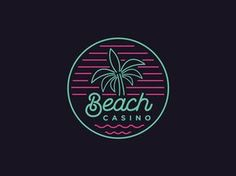 Beach Casino by Rob Rodriguez #Design Popular #Dribbble #shots