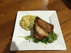Roasted Chicken and Thai Risotto