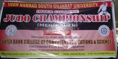 Inter College ''JUDO CHAMPIONSHIP''(MEN/WOMEN) At Amroli College 21-10-2015