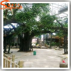 Source life size cheap artificial big trees landscape plastic fake amusement parks enchanted coasters artificial tree wedding valentines day weddings nice meeting you marriage mariage weddings chartreuse wedding fandeluxe Choice Image