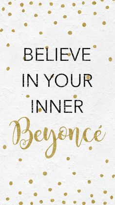 Beyonce Poster typography art wall decor mottos by