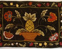 cactus needle rug hooking patterns - Google Search