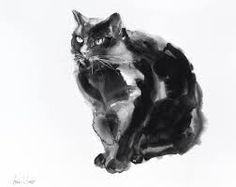 Image result for black cat art images