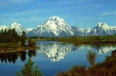 Grand Tetons National Park!  Beautiful...connects to Yellowstone.  Enjoyed the trip.  Hoping to see every Nat'l Park eventually!  Have already visited about 30!