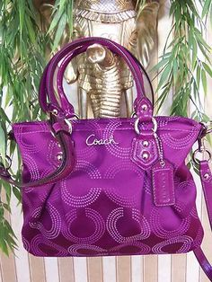 My Coach crossbody purse is my favorite. It lasts for so long and is such good quality. only $39.99 #Coach #Purse