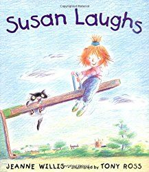Main character is in a wheelchair, but readers don't see this until the end. Instead, all they see are the activities Susan likes to do.