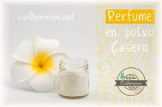 Perfume en polvo casero #cosmetica #belleza #perfume #DIY http://www.cuidemonos.net/2014/03/perfume-en-polvo-casero.html