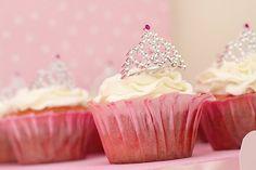 mini tiara cupcake toppers