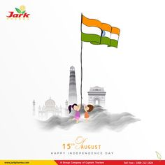 Happy Independence Day 🌿Jark Pharma Pvt Ltd. Being a pharmaceutical company that's committed to helping people live longer, healthier lives. Independence Day India Images, Happy Independence Day Wishes, Independence Day Poster, 15 August Independence Day, Independence Day Background, Independence Day Wallpaper, Poster Background Design, New Background Images, Creative Posters