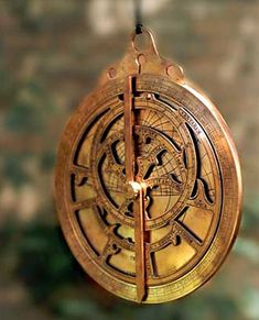 "wasbella102:    ""Planispheric Astrolabe"" or the Astronomical Astrolabe"
