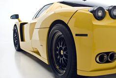 Yellow & Black Ferrari Enzo