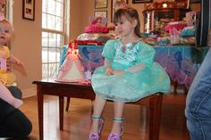 Birthday Princess getting ready to blow out her 3 candles!