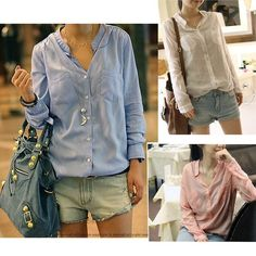 Color: pink,black,sky blue,white Size: medium,large, XL Style:Blouse,top,T-shirt See photo for size measurement