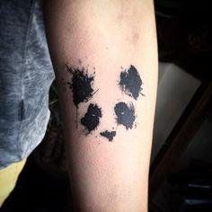 #panda by @bunnykingx /// #⃣#Equilattera #tattoo #tattoos #tat #tatuaje…