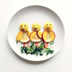 Food Art - Plate Canvases