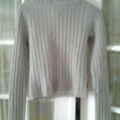Abercrombie & Fitch Turtleneck Sweater Grey wool, worn only a few times. Abercrombie & Fitch Sweaters Cowl & Turtlenecks