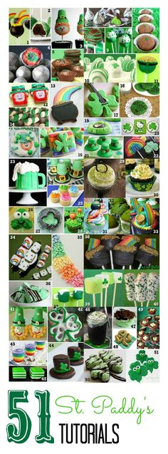51 Food Recipes - Tutorials for St. Patrick's Day