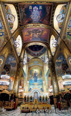 Cathedral of St. Vladimir Kiev Ukraine Viktor Vasnetsov Apollinary Vasnetsov interior sublime architecture