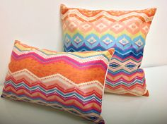 Pillow Cover Throw Pillows Zig zag Pillow Covers by HomeDecorYi