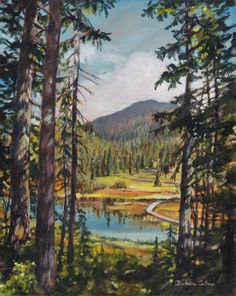 """Above Paradise Meadows"" oil on canvas Oil On Canvas, Paradise, Paintings, Artist, Painted Canvas, Artists, Painting, Oil Paintings, Draw"