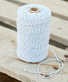 Look what I found on #zulily! Light Gray & White Stripe Twine by Expect Personality #zulilyfinds
