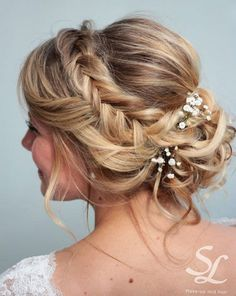 Headband braid updo by Stella Loewnich