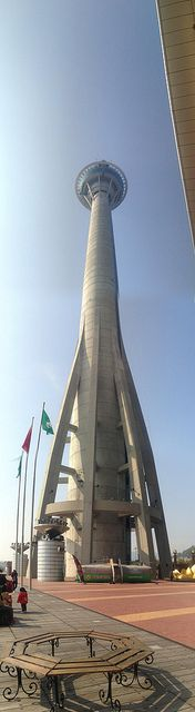 Macau Tower. Home to the world's tallest bungee jump - 233m
