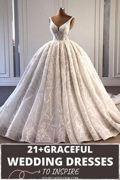 Vintage, lace, simple, mermaid, ball, modern or traditional and unconventional, we love all styles of wedding gowns. Wedding dresses & gowns inspiration, wedding ideas, bridal dresses, marriage, wedding decoration. #wedding #weddingdress #dress #birdaldress #aesthetic #fashion