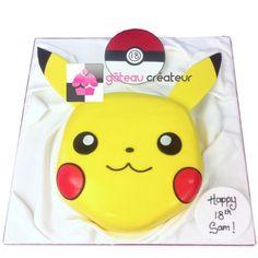 Gâteau d'anniversaire Pikachu, Pokémon