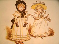 Marigold Garden Kate Greenaway Vintage Illustration  LoveVintageAlways