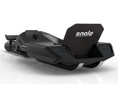 Carbon Fiber Snowmobile Snolo Stealth Snowmobile