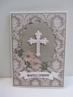 Heartfelt Sympathy by pandarina - Cards and Paper Crafts at Splitcoaststampers