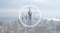 Blurry. Transparent. Background. Skyline. New York City. Circle. Hip. Illustration. Typography. Abbreviation. Clean. Modern. Light. Sky.