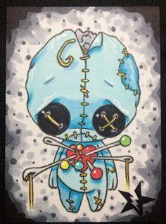 Sugar+Fueled+Voodoo+Doll+Boy+Blue+lowbrow+creepy+by+Sugarfueledart,+$4.00