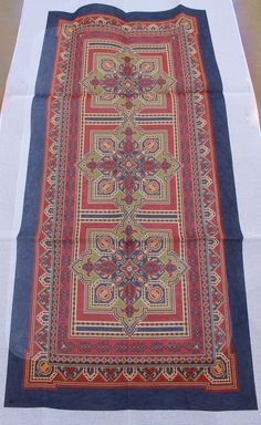 CanvasWorks R15 Eagle Kazak Three Repeat Hand Painted Needlepoint Canvas #CanvasWorks
