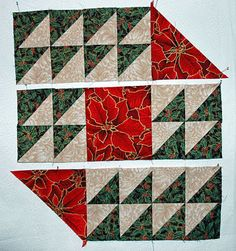 quilted table runner patterns | Assemble Quilt Blocks for the Christmas Table Runner, Page 5