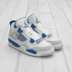 uk availability bb9fb 70793 For those of you keeping score at home, these upcoming Military Blues will  be the latest of five Air Jordan IVs that Jordan Brand will release in 2012