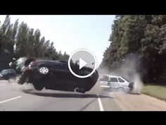 See Most Spectacular Car Crash Compilation. All crashes in this video are non-fatal.Take this video as a learning tool. This video is only for educational purposes. Be careful on the road. Drive safely and keep yourself and others safe. https://www.youtube.com/watch?v=kVl-6-A9ZO4