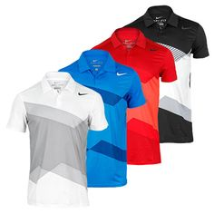 Men`s Graphic Tennis Polo. For when we play golf! Mens Golf Outfit, Golf Attire, Polo T Shirts, Golf Shirts, Camisa Nike, Golf Wear, Tennis Clothes, Golf Fashion, Men's Fashion