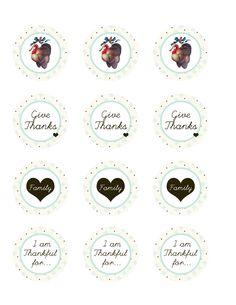 All sizes | Thanksgiving Printable circles | Flickr - Photo Sharing!