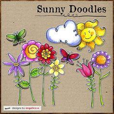 Doodle Designs, Flower Doodles, Stick Figures, Zentangle, Random Stuff, Scrap, Activities, Drawings, Flowers
